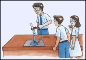 Правила работы в лаборатории нагревание пробирки